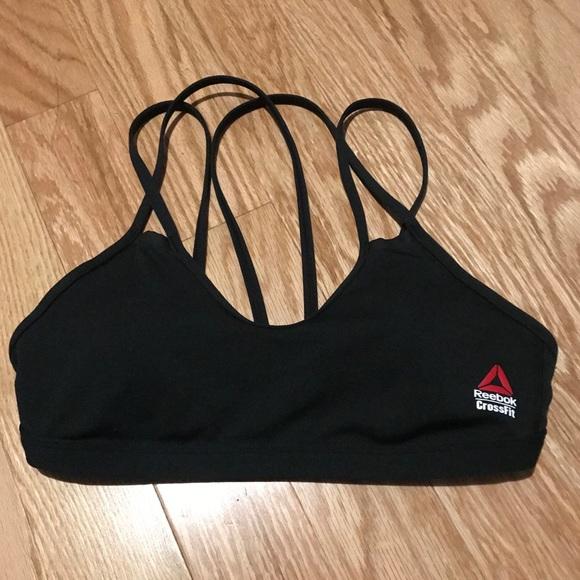 f05e33c542 Reebok CrossFit Double Strappy Sports Bra